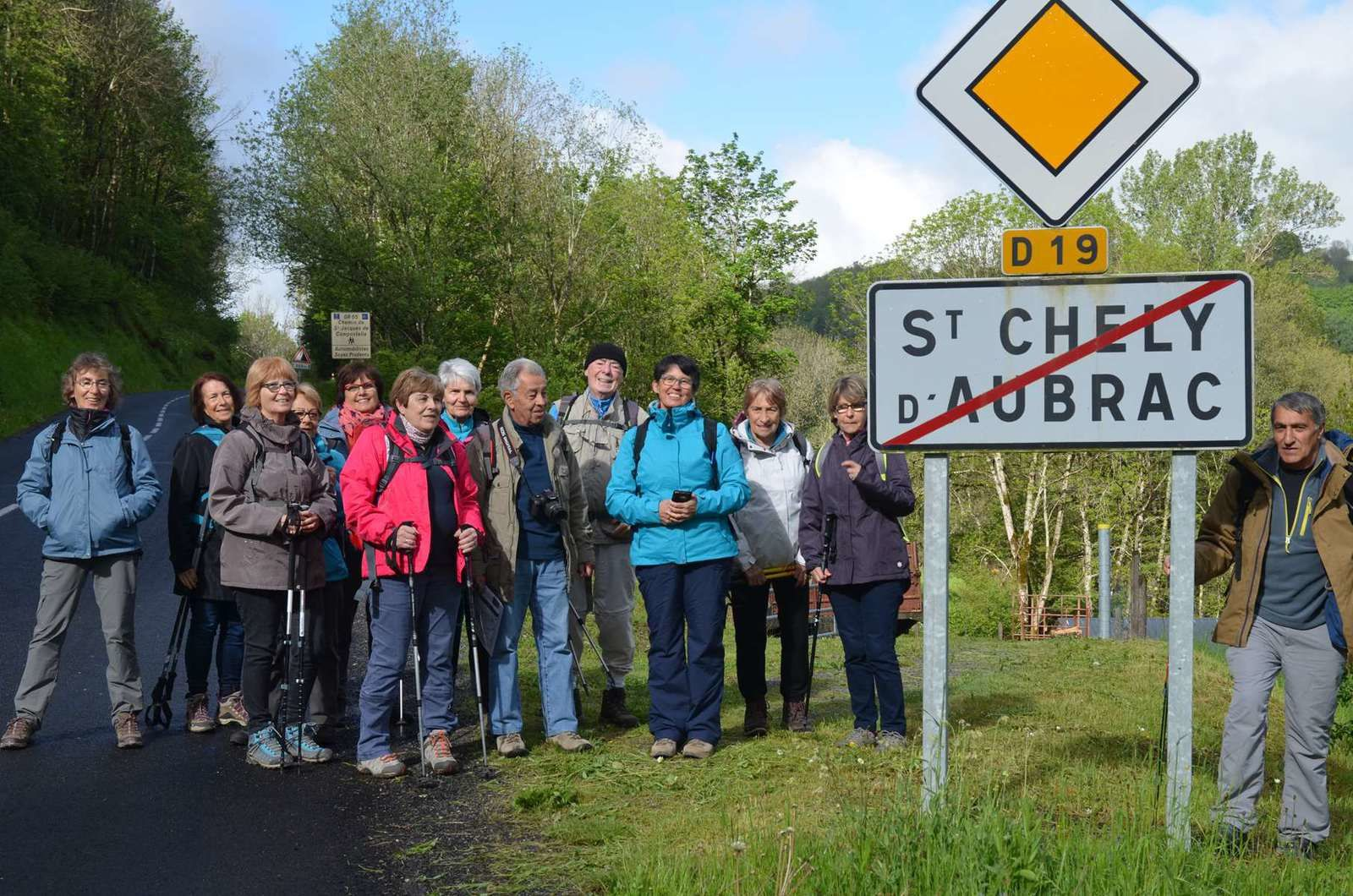 Week-end Rando à Laguiole 19-20-21 mai 2017