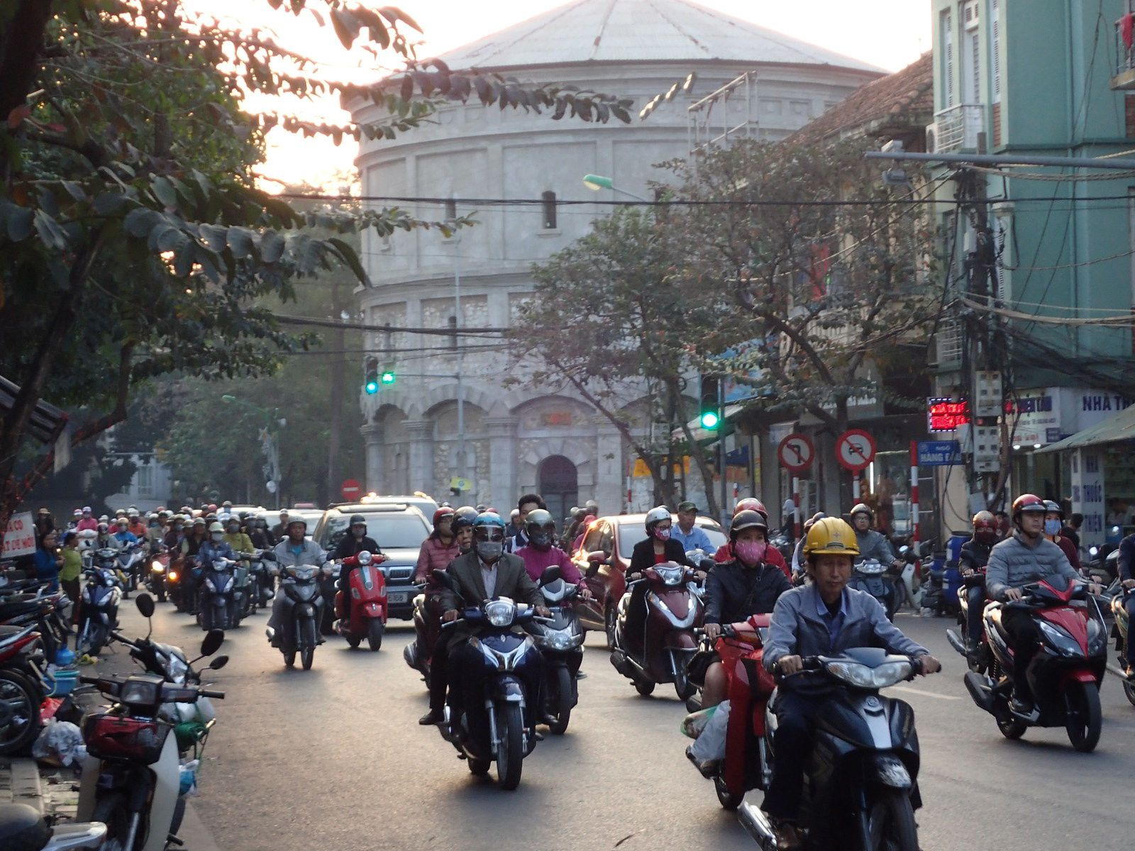 Would you be Hanoi-yed ?