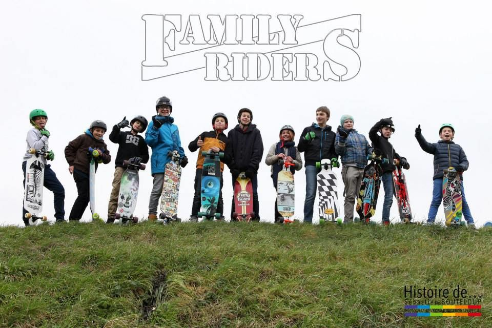 Coutainville's young guns : Family riders