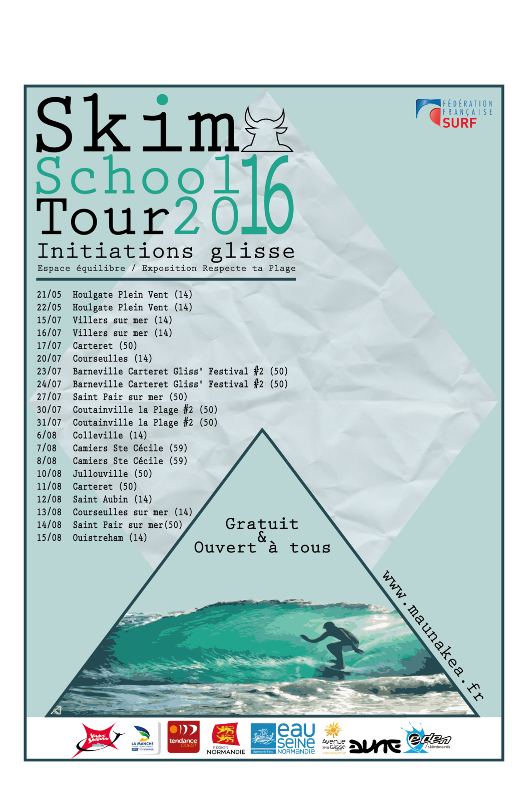 Skim School Tour 2016 !