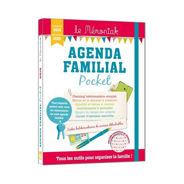L'agenda familial Mémoniak 2014/2015 pocket