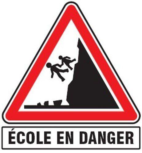 Notre école est en danger !