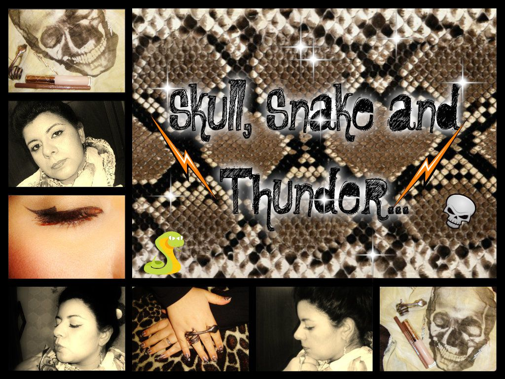 §kull, §nake And Thunder§