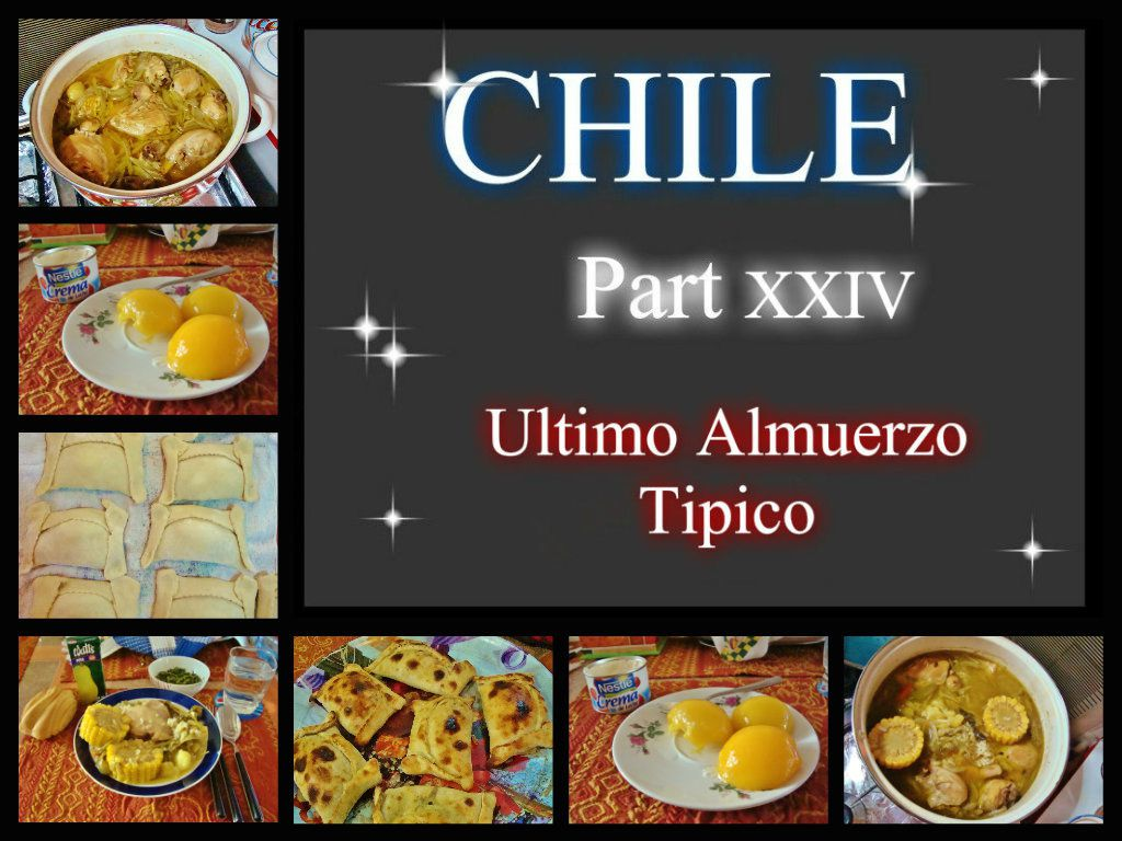 CHILE Part XXIV -Ultimo Almuerzo Tipico- (20.01.09)