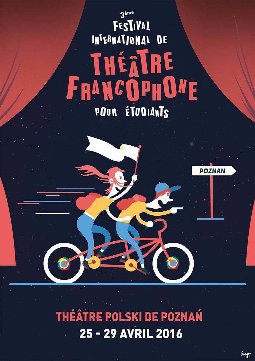 Souvenirs... 3ème Festival International de Théâtre Francophone pour Étudiants, Poznan (Pologne)