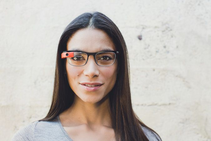 Google designed frames for Glass in four styles, made of lightweight titanium, partly because Glass's processor and battery add weight. Google