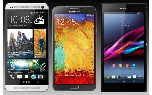 Smartphones with a diagonal screen size of between 5 to 6.9 inches are popular in Asia