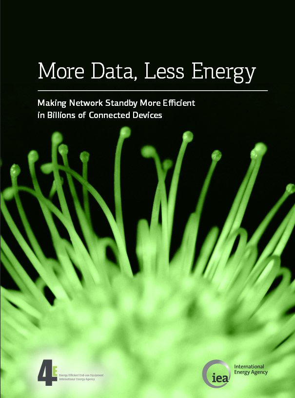 More Data, Less Energy - Making Network Standby More Efficient in Billions of Connected Devices