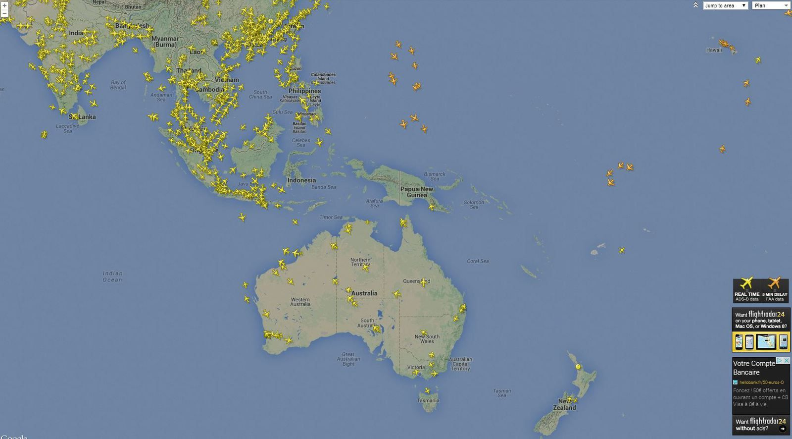 Flightradar24 is the best live flight tracker that shows air traffic in real time. Best coverage and cool features!