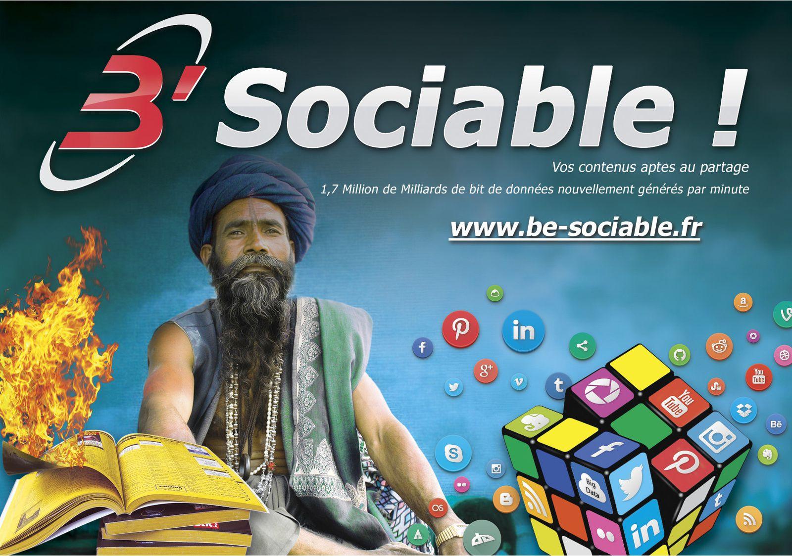 Be Sociable : rendez-vos contenus aptes au partage !