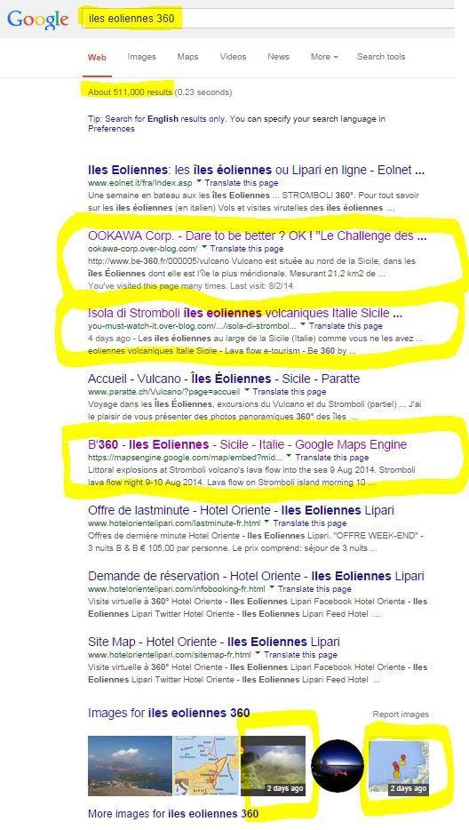 """recherche de l'expression  : """"iles eoliennes 360"""""""