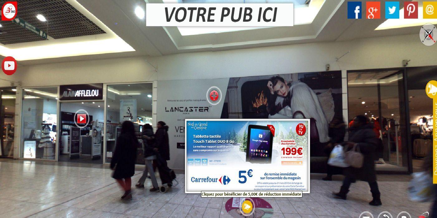 2eme Etape / Afficher les PROMOS trouvées dans le Centre Commercial virtualisé  ...