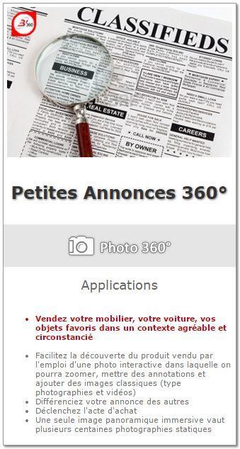 Petites Annonces 360° avec B'360