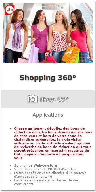 Shopping 360° - Chasse au Trésor avec B'360