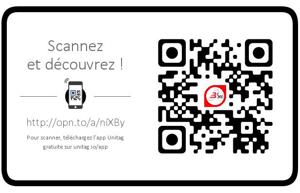 Usages et utilités de la Visite Virtuelle à 360° : le cas B'360 avec son QR-Code