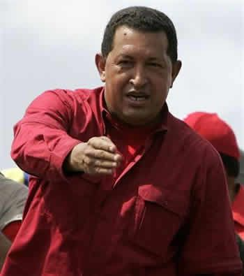 Chavez announces the nationalisation of telecom and power companies