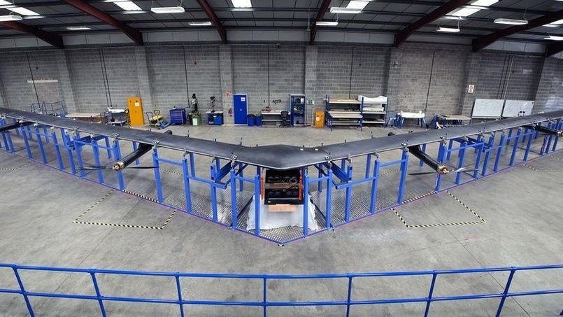 Le projet internet.org : Aquila le drone solaire de Facebook bientôt en l'air !