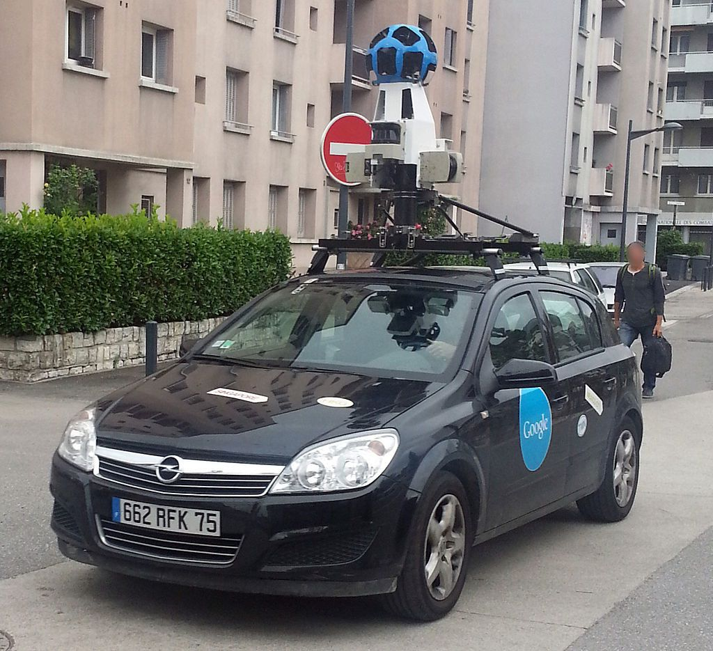 Couverture Google Street View en cette mi-2015 : photo 360°