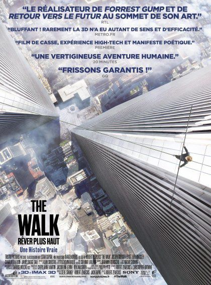The Walk - Rêver Plus Haut : on a recréé les sommets des deux tours du World Trade Center en studio, sur fond vert