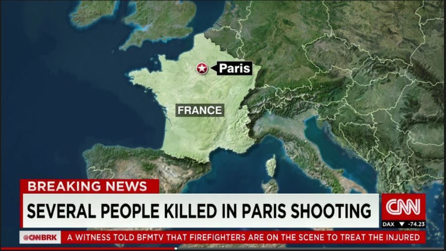 BFMTV: At least 60 dead in Paris attacks