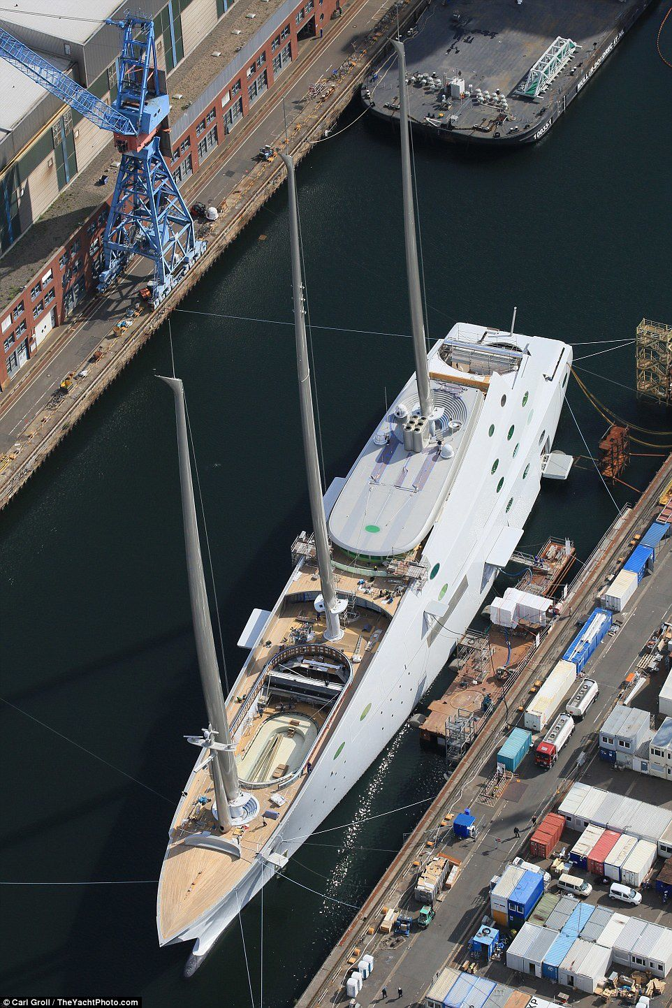 World Largest Sailing Yacht &quot&#x3B;A&quot&#x3B; Superyacht grande yate grand voilier