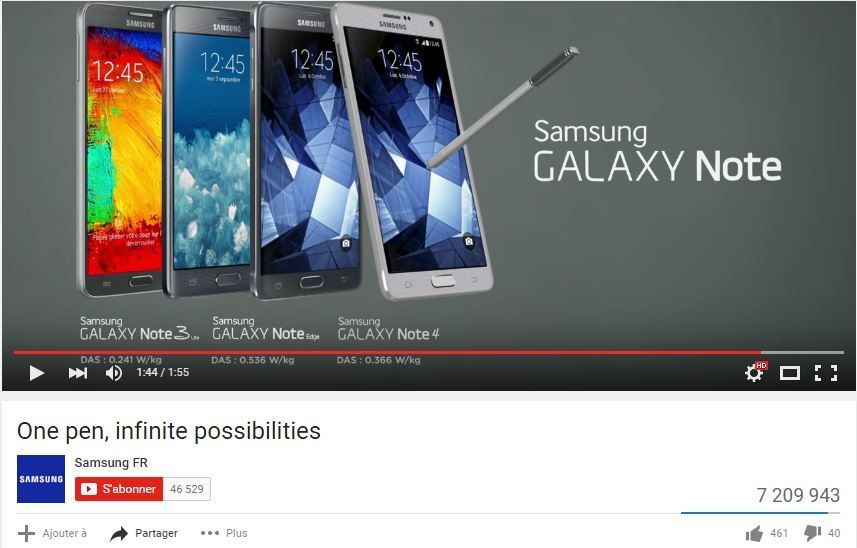 One pen, infinite possibilities : Galaxy Note 4 !