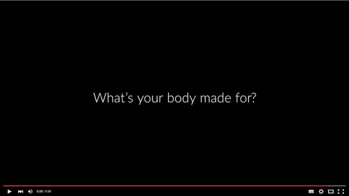 #ThisBody is made for ... starting a REVOLUTION!