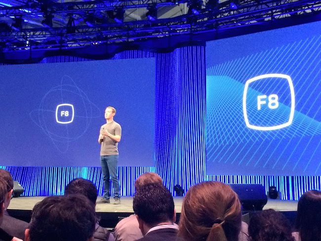 Mark Zuckerberg Keynote Facebook F8 San Francisco