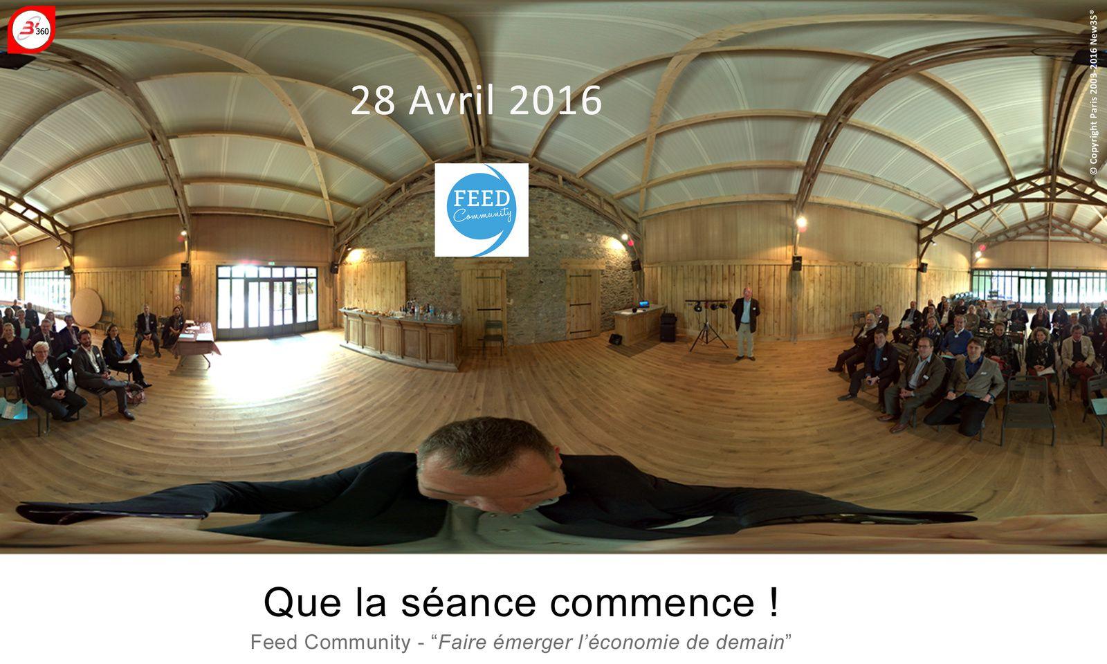 """Feed Community : Faire émerger l'economie demain consacrée au """"Web de demain !?"""" Conférence du 28 Avril"""