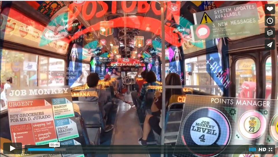 HYPER-REALITY presents a provocative and kaleidoscopic new vision of the future, where physical and virtual realities have merged