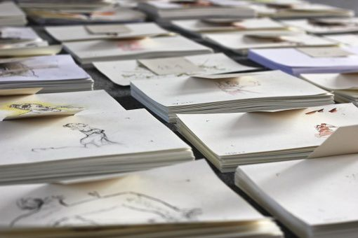 Disco, un film d'animation réalisé avec 1200 images peintes à la main