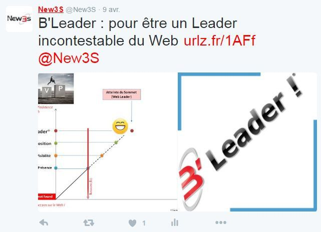 B'Leader : La machine qui vous place en Top POSITION sur Google