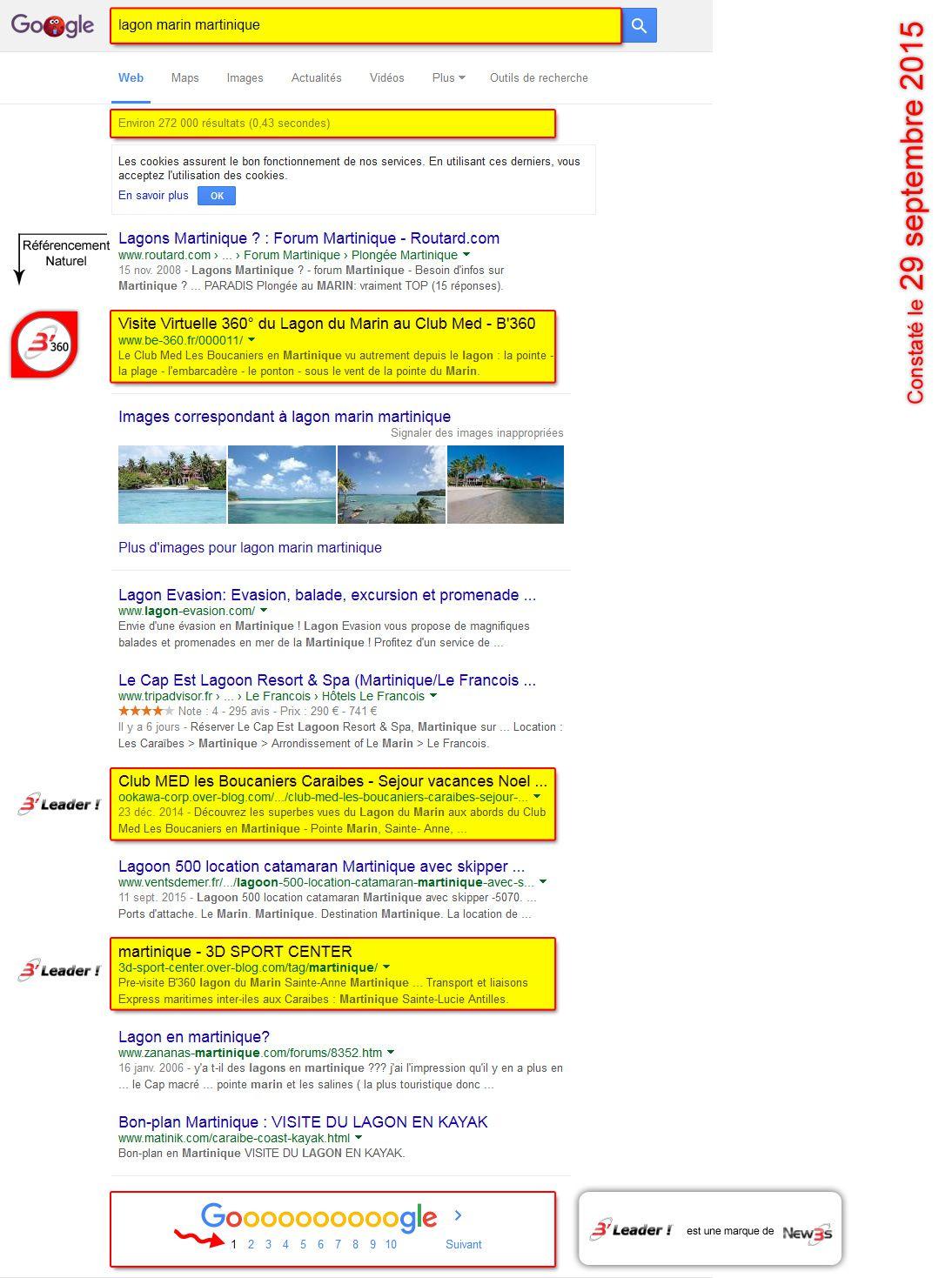 B'Leader : SERVICES de CREATION RAPIDE de positionnement en-tête du WEB dans les résultats issus des moteurs de recherche
