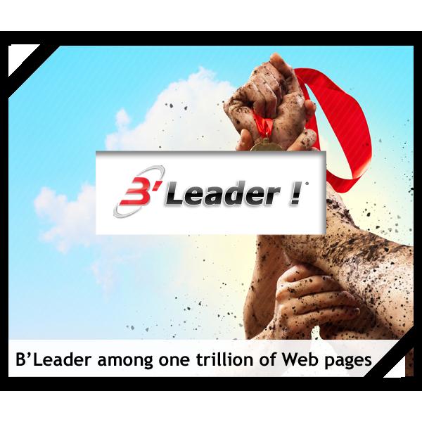 B'Leader - Pour être Leader sur le Web parmi 1000 milliards de pages