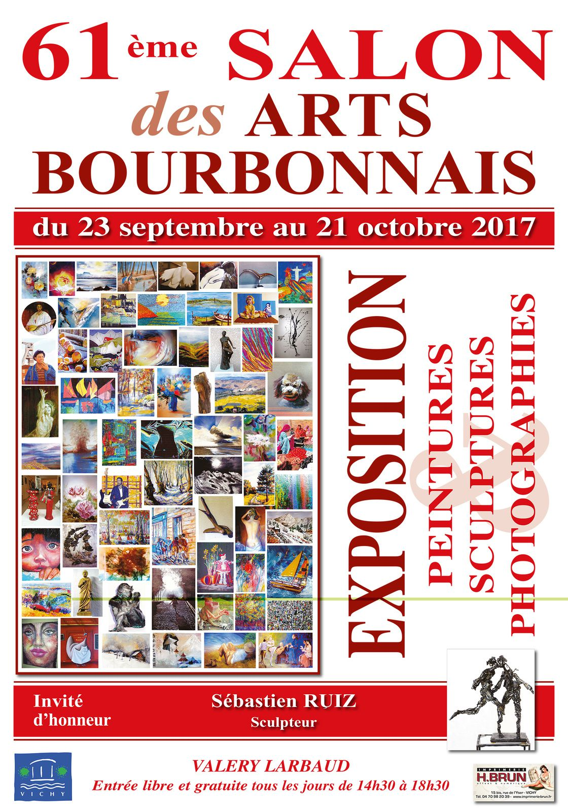...Les &quot&#x3B;Chinoises&quot&#x3B; s'exposent au Salon des Arts Bourbonnais...