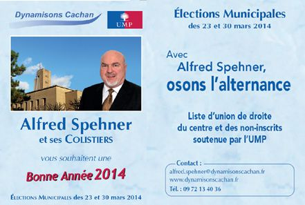 Calendrier - Alfred Spehner - Cachan 2014