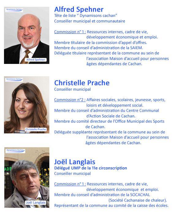Les élus UMP