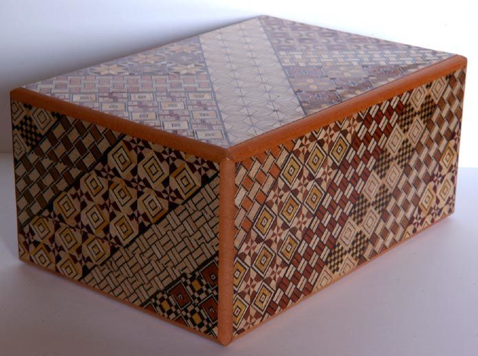 箱根寄木細工 54回秘密箱