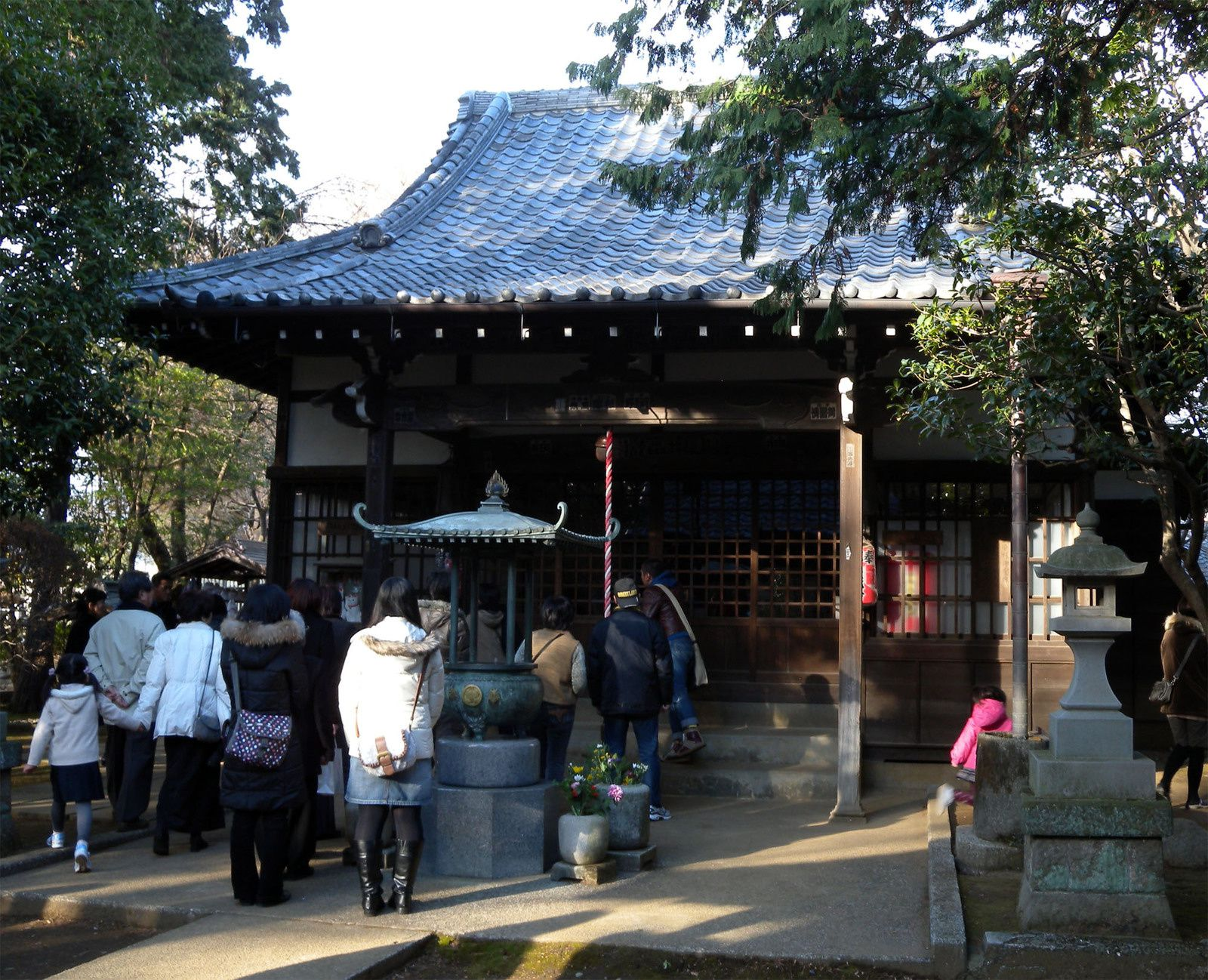 招猫殿 Temple to enshrine a cat