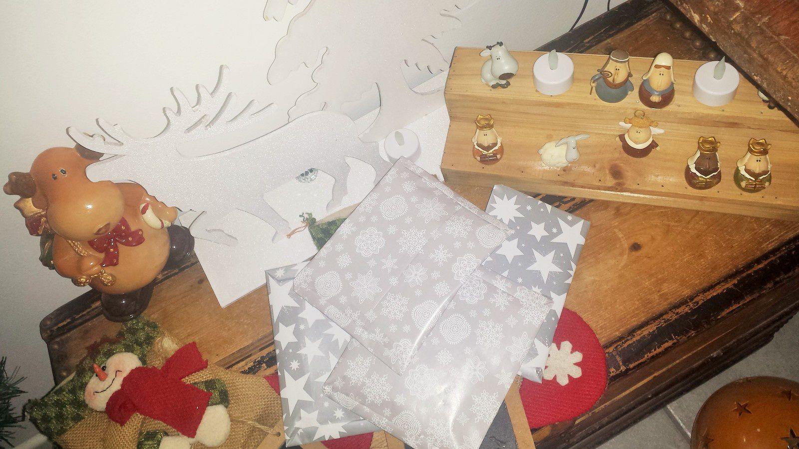 la pochette cadeau de Noël 2016