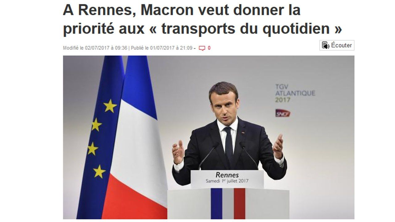 LGV &amp&#x3B; Macron. Attention : danger