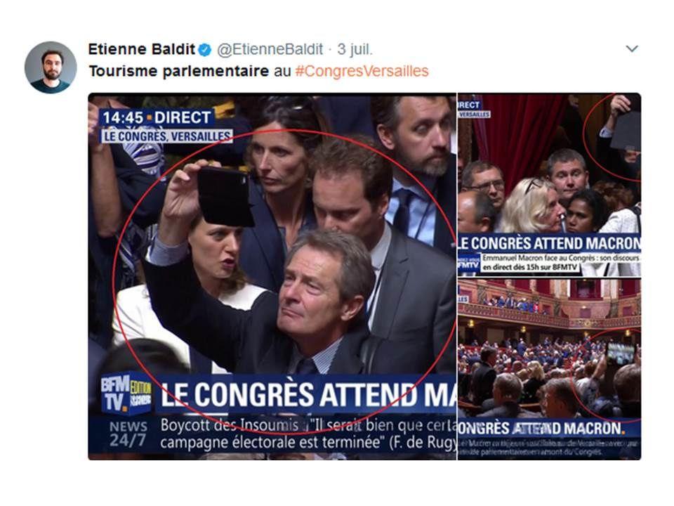 Par contre, côté selfies, nos députés de Lot-et-Garonne sont champions...