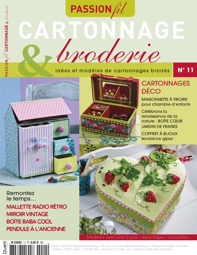Passion Fil Cartonnage & Broderie N°11