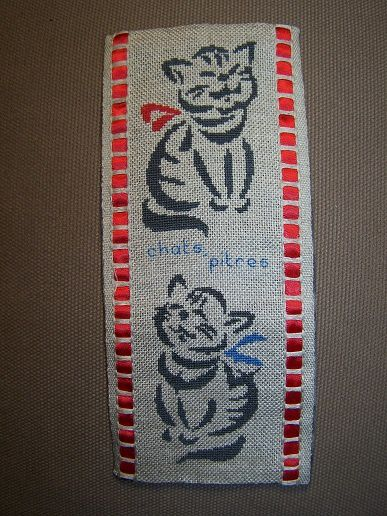 Chats marque-ta-page