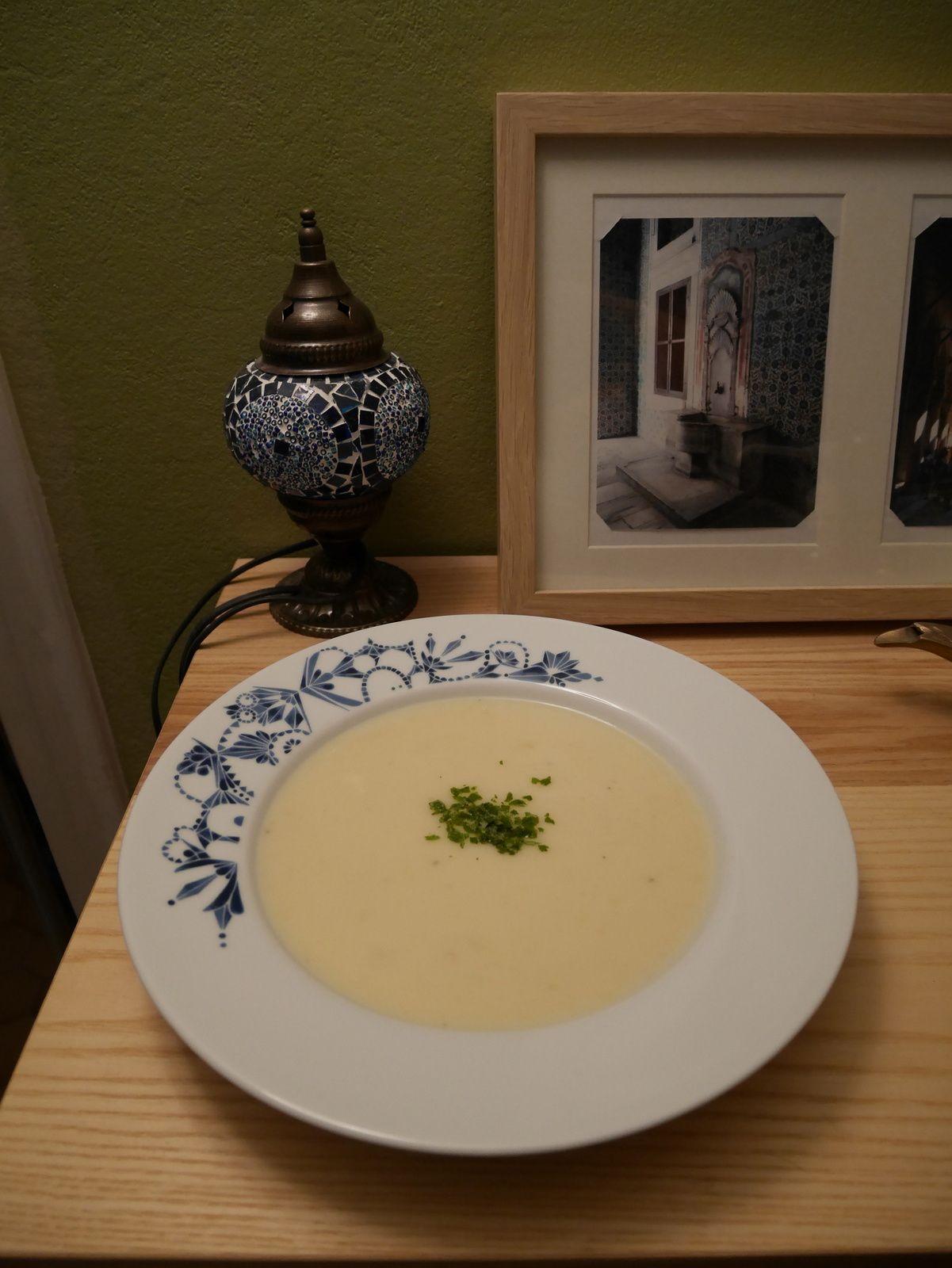 Soupe de navets et pommes de terre!