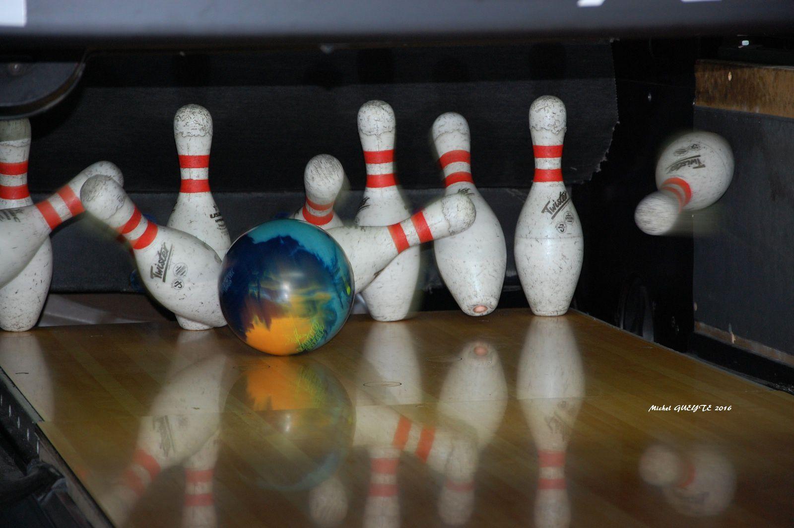 Ligue 2016/2017 du Saint Brieuc Bowling au Cyclope. Classement final