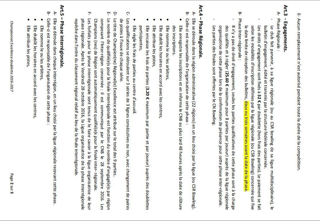 Championnat Fédéral Doublette Excellence - Phase régionale - Morlaix 2/10/16