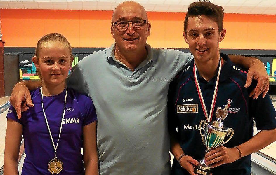 L'école de bowling du PLL, dirigée par Serge Camacho, est en plein essor.