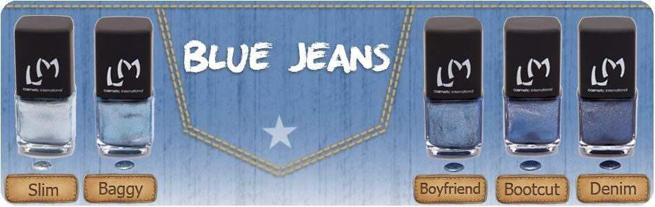 Collection Blue Jeans de LM Cosmetic