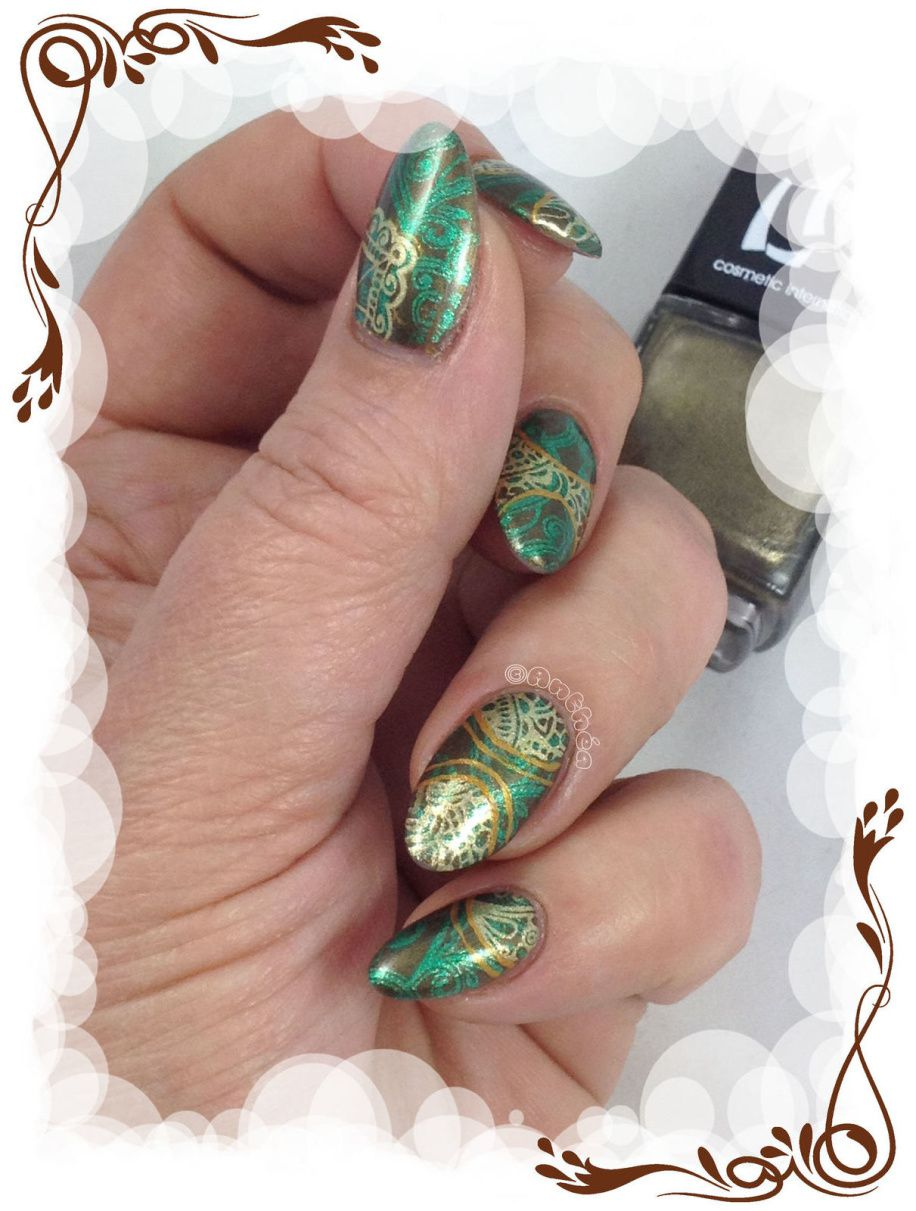 Double stamping vintage